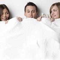 Inšpirovalo vás porno k trojke?