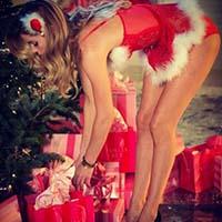 Príjemný vianočný escort